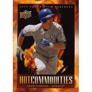 2008 Ud Hot Commodities #Hc16 Alex Gordon: Sports