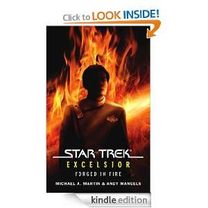 Star Trek The Original Series Excelsior Forged in Fire Michael A