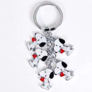 Peanuts Gang Snoopy Metal Figures Key Chain Ring Toys & Games