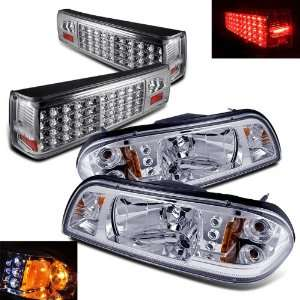 Eautolight 87 93 Ford Mustang LED Head Lights + LED Tail Lights Brand