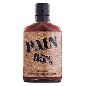 Pain 95% Habanero Hot Sauce 100% Natural   7.5 oz:  Grocery