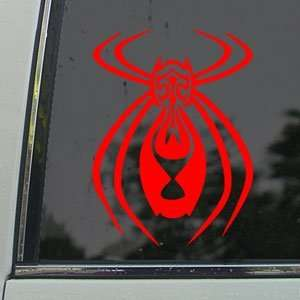 Tribal Spider Red Decal Car Truck Bumper Window Red