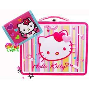 Hello Kitty Tin Lunch Box+ Hello Kitty Wallet Office