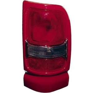 Dodge Ram Pickup Replacement Tail Light Unit (Red)   Passenger Side
