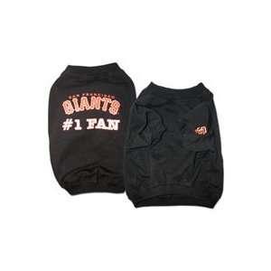 San Francsisco Giants #1 Fan Dog Shirt XXS Teacup Size