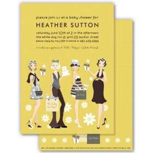 The Baby Boutique Baby Shower Invitation