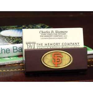 MLB San Francisco Giants Baseball Business Card Holder