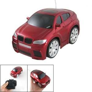 Children Plastic RC Remote Control Racing Car Toy Red Toys & Games