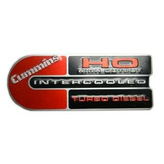 Ram 2500/3500 Cummins HO Diesel Engine Badge Emblem