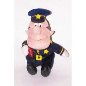 and the Island of Misfit Toys: 8 Plush Traffic Cop: Toys & Games