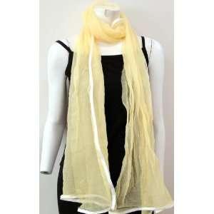 Chiffon High Quality, Long Scarf Neck Wear Wrap, Cool Summer Accessory