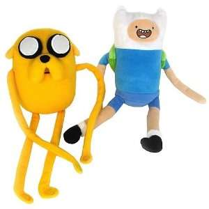Adventure Time Jake and Finn Plush Set: Toys & Games