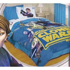 Star Wars The Clone Wars Twin Size Sheet Set Cotton Sheets