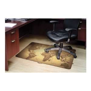 ES Robbins Design Series World Map Hard Floor Foldable