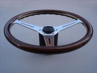 VW BUG GHIA TYPE 3 REPLICA NARDI WOOD STEERING WHEEL