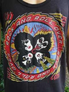KISS ROCK N ROLL OVER ROCK Tank Top T Shirt S M L XL