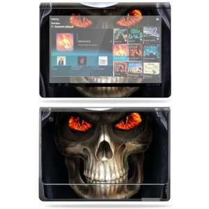 Vinyl Skin Decal Cover for Sony Tablet S Evil Reaper Electronics