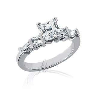 1.30 Ct Heart Shaped Diamond Engagement Ring 14K VS1 I GIA