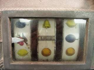 1910 MILLS NOVELTY CO. Antique Slot Machine Bell Fruit Gum Chicago 5