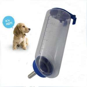 Pet Dog Cat Hanging Water Fountain Bottle Feeder NEW