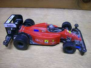 Plastic Battery Op Indy Race Car 6 inches Long No Box