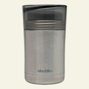 12 oz Leak Proof Stainless Steel Food Jar, Black