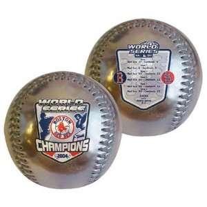 Boston Red Sox 2004 World Series Champions Commemorative Silver