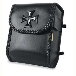 Max SBB473 Iron Cross Sissy Bar Bag For Harley Davidson Automotive