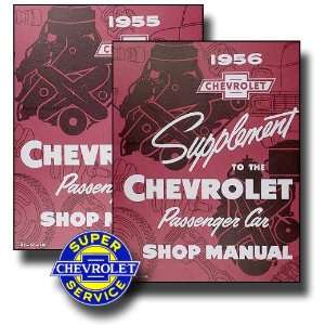 1956 Chevrolet Chevy Shop Service Repair Manual with Decal