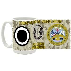 Army I Corps 1st Special Forces Group Coffee Mug