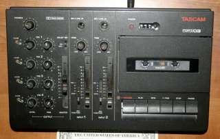 Teac Tascam Porta 03 MiniStudio Mixer tape recorder+man