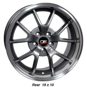 SALEEN STYLE FORD MUSTANG FR500 18 INCH WHEELS RIMS Automotive