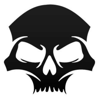Vinyl Helmet Decal Sticker Skull Car Window ZE5ZE