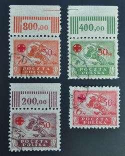 Very Fine Red Cross Set, $170, Polska,Polen,Russia,Croix Rouge