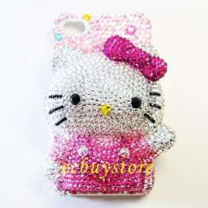 Handmade 46 1 3d Bling Swarovski Crystal Hello Kitty Case