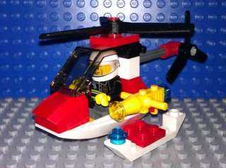New Lego City Fire Helicopter Set 4900