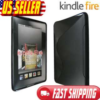 Clear TPU Gel Soft Skin Case Cover for  Kindle Fire 7 Tablet
