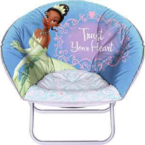 NEW Disney Princess and the Frog Kids Mini Saucer Chair