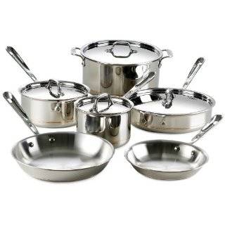 All Clad 6304 SS Stainless Steel Copper Core 4 Quart 40th
