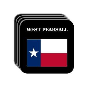 US State Flag   WEST PEARSALL, Texas (TX) Set of 4 Mini