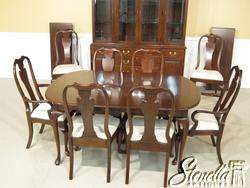 Thomasville Cherry Dining Room Set W China Cabinet Queen