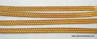 22k gold chain necklace vintage antique old indian