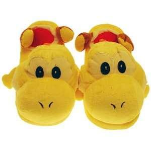 Super Mario Brothers Yoshi Yellow Ver. Slippers Plush