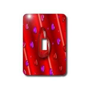 Sandy Martens Valentine Designs   Love Heart PatternTwo   Light Switch