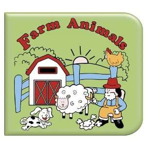 Farm Animals Washable Coloring Book Toys & Games