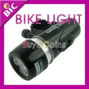 LED Beam Bicycle Head Torch Light Bike Lamp