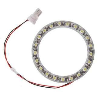 Durable T10 21 LED White Light Dia 70mm Car Angel Eye Easy install