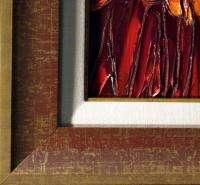 Maya Eventov Untitled Original Acrylic Painting Canvas framed L@@K