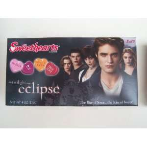 Sweethearts Candies Twilight Saga Eclipse box 2 of 3 featuring Edward