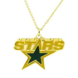 Dallas Stars   NHL Logo Pendant Necklace Sports